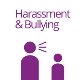 harrasment and bullying
