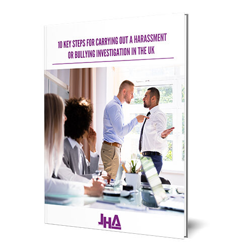 10 key steps for carrying out a harrasment or bullying investigation in the UK