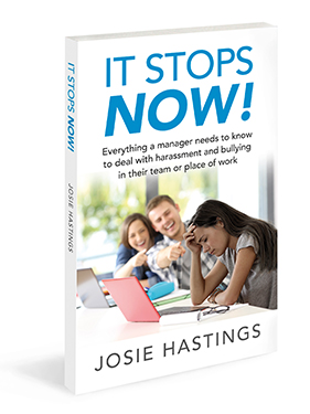 Josie hasting book cover it stops now